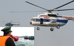 Quân đội sẵn sàng phương tiện bay cứu hộ, cứu nạn trên biển và trên đất liền