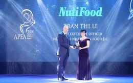 """NutiFood lập """"Hat-trich"""" với 3 giải thưởng về doanh nghiệp & lãnhđạo xuất sắc Châu Á"""