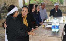 Lãnh đạo Hội LHPN Việt Nam thăm hỏi thân nhân liệt sĩ ở Hà Tĩnh hy sinh khi tham gia cứu nạn