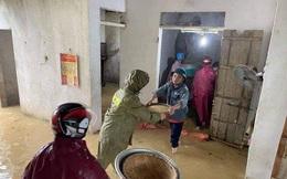 Thủy điện xả lũ, hàng trăm hộ dân ở Nghệ An sơ tán trong đêm
