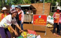 """Ra mắt mô hình """"thu gom và phân loại rác thải"""" vì môi trường nông thôn mới"""