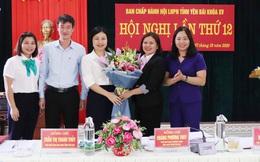 Bà Triệu Bích Ngọc được bầu làm Chủ tịch Hội LHPN tỉnh Yên Bái