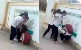 Chê áo bạn mỏng, nữ sinh lớp 8 bị đánh hội đồng ngay trước cổng trường