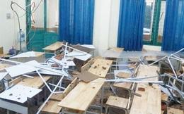 TPHCM: Nỗ lực khắc phục sự cố giông lốc làm tốc mái một trường học ở quận 6