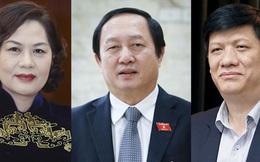 Hôm nay, Quốc hội phê chuẩn 3 thành viên do Thủ tướng giới thiệu