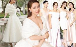 """Đi đám cưới Đông Nhi diện đầm trắng bị chê, Nhã Phương giờ """"sửa sai"""" chọn đồ tinh tế hẳn"""