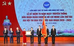 70 năm ngày Truyền thống Liên hiệp các tổ chức hữu nghị Việt Nam