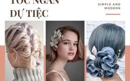Những mẫu tóc ngắn dự tiệc dễ làm giúp chủ nhân tỏa sáng