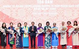 Những tà áo dài trong chặng đường 75 năm Ngoại giao Việt Nam