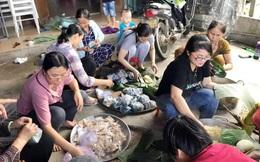 Phụ nữ Quảng Nam góp gạo, rau xanh tiếp sức cho lực lượng tìm kiếm vụ sạt lở đất