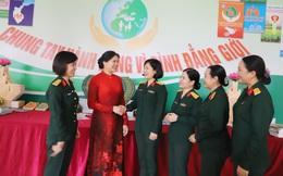 Tổng kết công tác vì sự tiến bộ của phụ nữ và bình đẳng giới trong quân đội