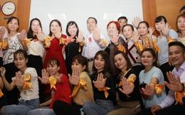 Công nhân lan tỏa thông điệp phòng chống bạo lực với phụ nữ trong doanh nghiệp