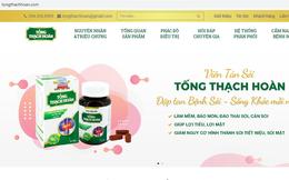 Bộ Y tế cảnh báo thực phẩm BVSK Viên tán sỏi Tống Thạch Hoàn và Viên Dưỡng Khớp X3