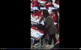 Cách xử lý gây bất ngờ của giáo viên khi học sinh ngủ gật