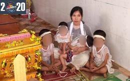 """Báo PNVN trao 4 triệu đồng hỗ trợ gia đình """"bố mất đột ngột, mình mẹ nuôi 2 cặp sinh đôi"""""""