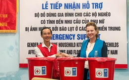 UNDP hỗ trợ người dân bị ảnh hưởng bởi bão lụt ở miền Trung
