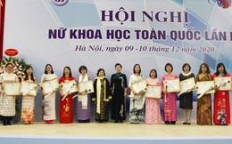 56 Nhà khoa học nữ xuất sắc được tặng bằng khen của Đoàn Chủ tịch Hội LHPN Việt Nam