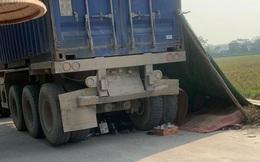 Hà Nội: 2 chị em ruột tử vong thương tâm khi bị container lùi trúng trên đường đi học