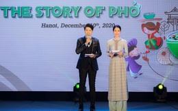 """Á hậu Phương Anh làm MC tại sự kiện """"Chuyện của Phở"""""""
