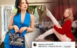 """Không uổng công Quỳnh Nga lên đồ khoe ngực nở eo thon, Việt Anh liền buông lời """"thả thính"""""""