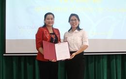 Bà Nguyễn Thị Hoàng Ánh được bổ nhiệm Phó hiệu trưởng Trường Trung cấp Lê Thị Riêng