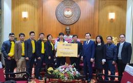 Công Phượng và đồng đội chung tay ủng hộ đồng bào Miền Trung khắc phục thiệt hại sau bão