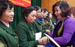 Hà Nội: Tri ân 55 nữ cựu thanh niên xung phong tiêu biểu