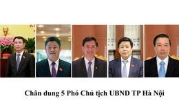 Thủ tướng phê chuẩn 5 phó chủ tịch UBND Hà Nội