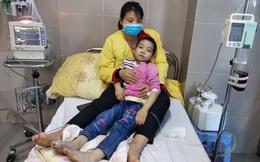 Bé 8 tuổi bị viêm phổi, ung thư gốc lưỡi mong được hỗ trợ