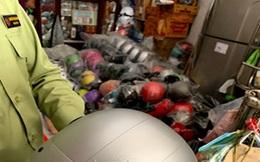 Đồng Tháp: Phát hiện gần 700 nón bảo hiểm nghi giả nhãn hiệu Nón Sơn