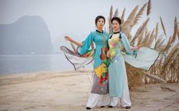 Dàn hoa hậu, á hậu diễn áo dài trên bãi biển hoang sơ