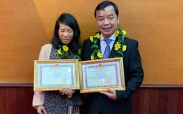 Nhà văn Nguyễn Bích Lan nhận Giải thưởng phát triển văn hóa đọc năm 2020