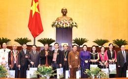 Chủ tịch Quốc hội Nguyễn Thị Kim Ngân gặp mặt đoàn đại biểu dân tộc thiểu số