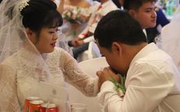 """Những khoảnh khắc hạnh phúc trong Lễ cưới tập thể """"Giấc mơ có thật"""""""