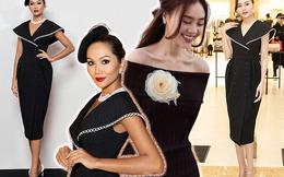Một chiếc đầm 2 số phận: Hoa hậu mặc dừ hơn tuổi, ngọc nữ màn ảnh vượt mặt đàn em