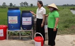 Hiệu quả kép từ mô hình phân loại rác thải tại nguồn ở thị trấn Thứa