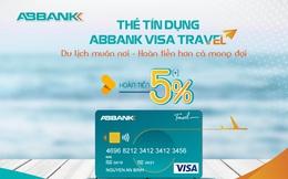 Hoàn tiền tới 5% khi mua sắm bằng thẻ ABBANK Visa Travel