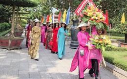 Hội LHPN Nghệ An dâng hoa, dâng hương tại khu di tích Kim Liên