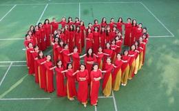 Hơn 8.000 phụ nữ Tây Nguyên thướt tha đồng diễn áo dài