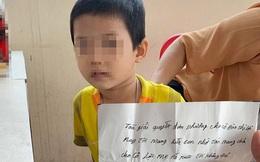 Bé trai bị bố bỏ rơi tại tòa án đã được người bác tàn tật nhận nuôi