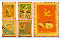 Những chiếc tem thư nhỏ bé biết kể chuyện Bác Hồ