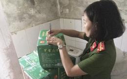 Hà Nội thu giữ 1 tấn nguyên liệu trà sữa nhập lậu