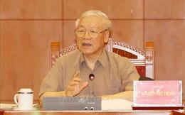 Tổng Bí thư, Chủ tịch nước Nguyễn Phú Trọng: Không để lọt vào Trung ương phần tử không đủ tiêu chuẩn