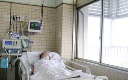 Nữ nạn nhân vụ cháy nhà 2 tầng vẫn đang được hỗ trợ thở máy