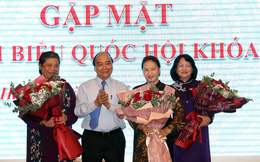 Gặp mặt nữ lãnh đạo và hơn 130 nữ đại biểu Quốc hội