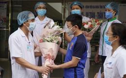 BV Đa khoa Thái Bình dỡ phong tỏa khu chữa bệnh nhân Covid-19