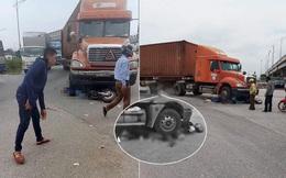 Bắc Giang: Va chạm với xe đầu kéo, 2 nữ sinh lớp 10 tử vong tại chỗ