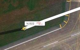 Tàu bay VietJet trượt khỏi đường băng Tân Sơn Nhất