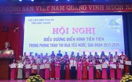 Hội LHPN tỉnh Bắc Giang biểu dương 102 tập thể, cá nhân điển hình