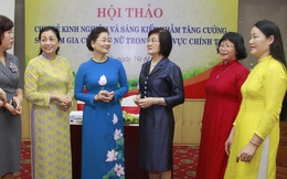 Nâng cao vai trò của Hội LHPN Việt Nam nhằm tăng tỷ lệ phụ nữ tham gia chính trị